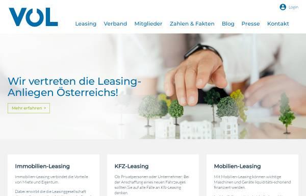 Vorschau von www.leasingverband.at, Verband österreichischer Leasing-Gesellschaften
