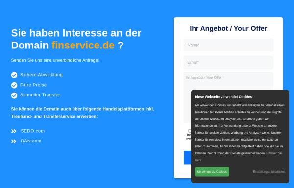 Vorschau von www.finservice.de, Finservice Service für Finanzdienstleister GmbH