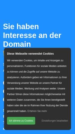 Vorschau der mobilen Webseite www.finservice.de, Finservice Service für Finanzdienstleister GmbH