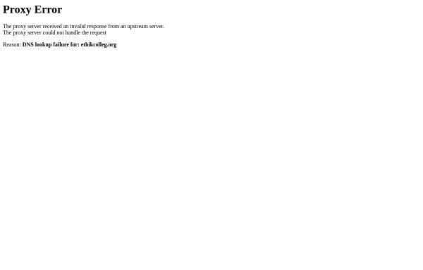 Vorschau von www.ethikcolleg.de, Ethikcolleg für Wirtschafts- und Unternehmensethik
