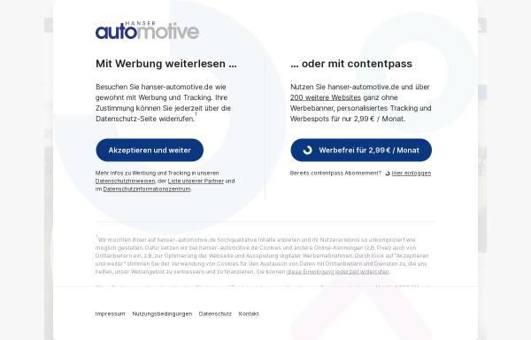 Vorschau von www.hanser-automotive.de, Automotive Electronics + Systems
