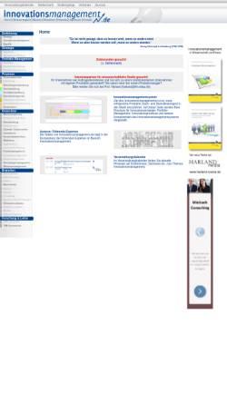 Vorschau der mobilen Webseite www.innovationsmanagement.de, Innovationsmanagement.de