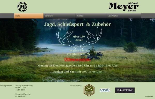 Vorschau von www.waffenmeyer.de, Alfred Meyer Gmbh