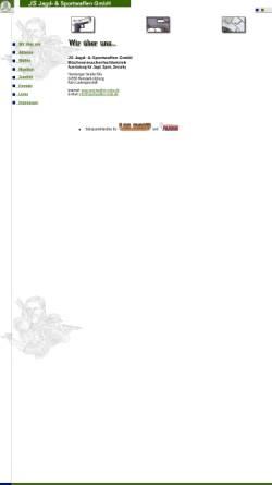 Vorschau der mobilen Webseite sportwaffen-nolte.de, AST Jagd- und Sportwaffen GmbH