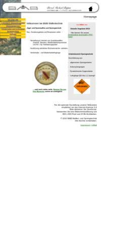 Vorschau der mobilen Webseite www.bmb-waffen.de, BMB Waffentechnik und Feinmechanik