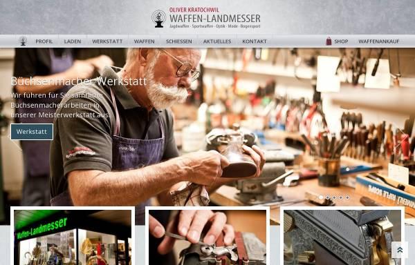 Vorschau von www.ferlacher-waffenschmiede.de, Ferlacher Waffenschmiede