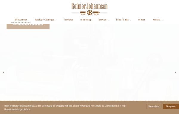 Vorschau von www.johannsen-jagd.de, Reimer Johannsen GmbH
