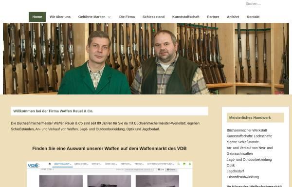 Vorschau von www.waffen-reuel-co.de, Waffen Reuel & Co.