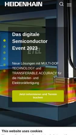 Dr Johannes Heidenhain Gmbh In Traunreut Automatisierungstechnik