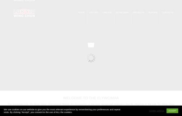 Vorschau von www.elywcimaa.com, European Lok Yiu Wing Chun International Martial Art Association