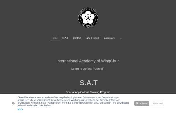 Vorschau von iaw-hq.com, International Academy of WingChun (IAW)