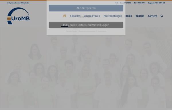 Vorschau von www.urologie-bb.de, Urologie Baden-Baden
