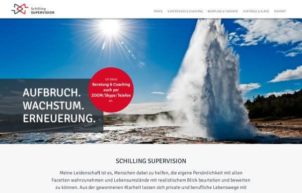 Vorschau von www.schilling-supervision.com, Birgit Schilling - Supervision, Coaching und Beratung