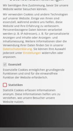 Vorschau der mobilen Webseite www.galileo-institut.de, Galileo Institut, Inh. Gudrun Happich