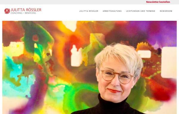 Vorschau von www.jr-training-beratung.de, Julitta Rössler-Kruszona,