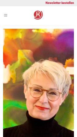 Vorschau der mobilen Webseite www.jr-training-beratung.de, Julitta Rössler-Kruszona,