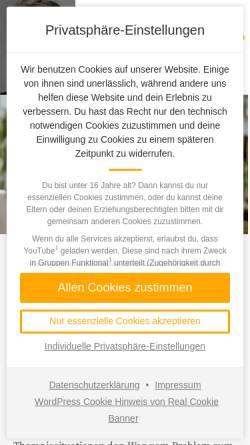 Vorschau der mobilen Webseite ulclement.de, Prof. Dr. phil Dipl.-Psych. Ulrich Clement