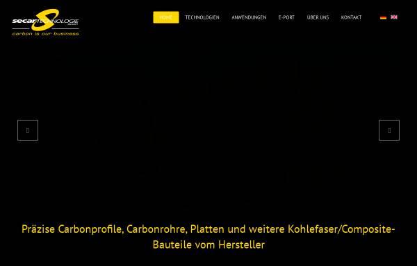 Vorschau von www.secar-technologie.at, Secar Technologie GmbH