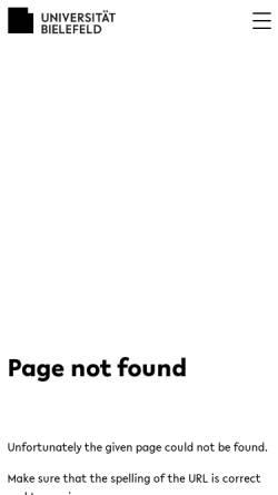 Vorschau der mobilen Webseite www.uni-bielefeld.de, Schipper, Wilhelm
