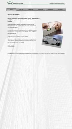 Vorschau der mobilen Webseite www.hsk-du.de, HSK Objektbetreuung in Duisburg
