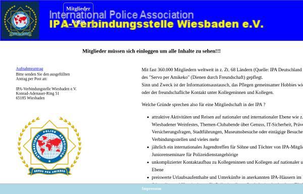 Vorschau von www.ipa-wiesbaden.de, International Police Association