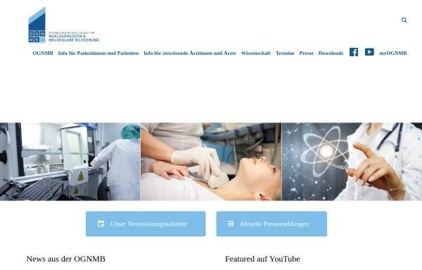 Vorschau von www.ogn.at, Österreichische Gesellschaft für Nuklearmedizin