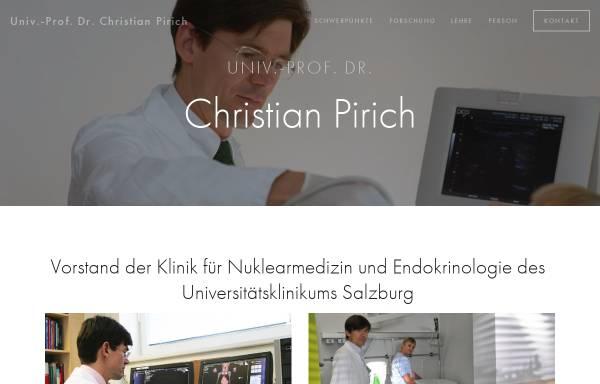 Vorschau von www.pirich.at, Prof. Pirich, Salzburg