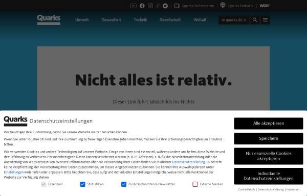 Vorschau von www.quarks.de, Leben mit Vulkanen