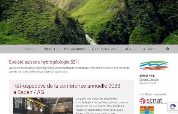 Vorschau von www.hydrogeo.ch, Schweizerische Gesellschaft für Hydrogeologie (SGH)