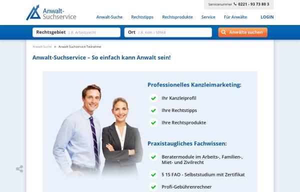 Vorschau von www.advo.de, Advo.de