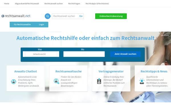Vorschau von www.e-fachanwalt.de, Fachanwaltsuche e-fachanwalt