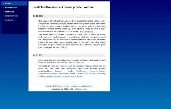 Vorschau von www.noedler.de, Nödler, Jens