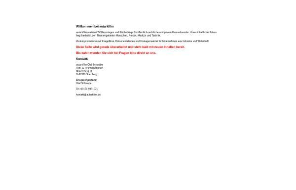 Vorschau von www.autarkfilm.de, Autarkfilm