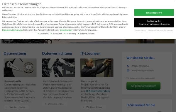 Vorschau von www.bindig-media.de, Bindig Media