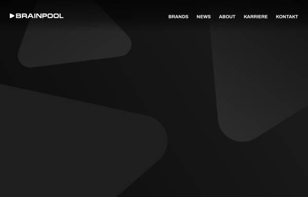 Vorschau von www.brainpool.de, Brainpool TV GmbH