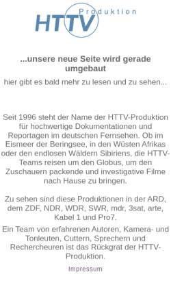 Vorschau der mobilen Webseite www.httv-produktion.de, HTTV Produktion