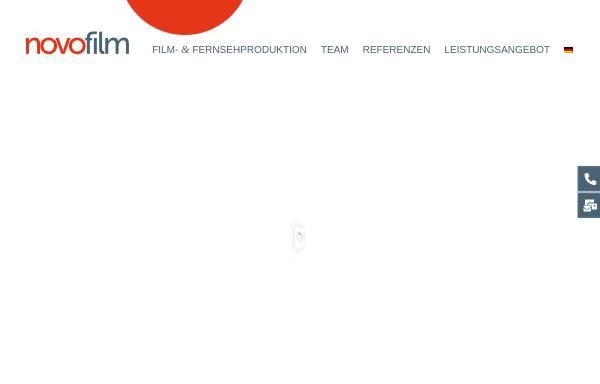 Vorschau von novofilm.de, Novo Film GmbH