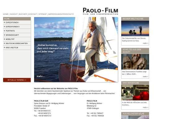 Vorschau von www.paolo-film.de, Paolo-Film GbR