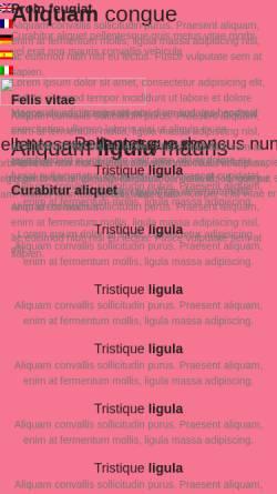 Vorschau der mobilen Webseite www.utvvideo.de, u-tv Videoproduktion