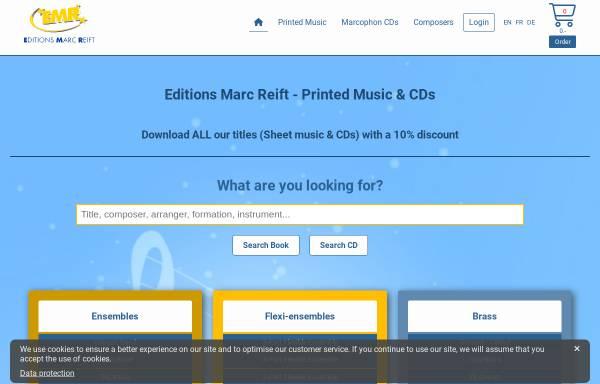 Vorschau von www.reift.ch, EMR - Editions Marc Reift