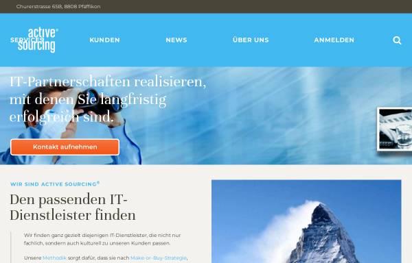 Vorschau von www.active-sourcing.com, Active Sourcing GmbH
