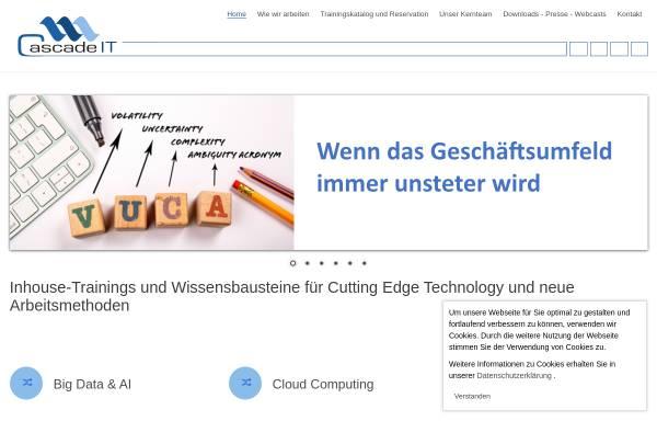 Vorschau von www.cascadeit.ch, IT Sourcing Managen