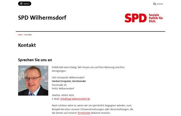 Vorschau von spd-wilhermsdorf.de, SPD