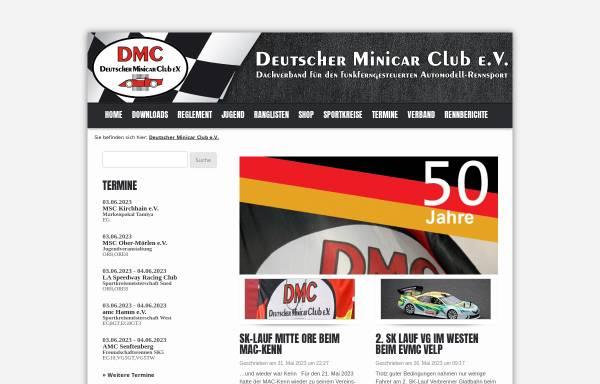 Vorschau von www.dmc-online.com, Deutscher Minicar Club e.V.
