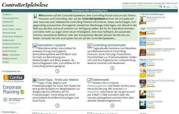 Vorschau von www.controllerspielwiese.de, ControllerSpielwiese