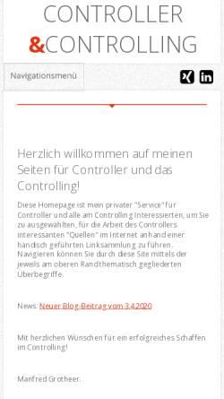 Vorschau der mobilen Webseite www.my-controlling.de, Controlling [my-controlling.de]