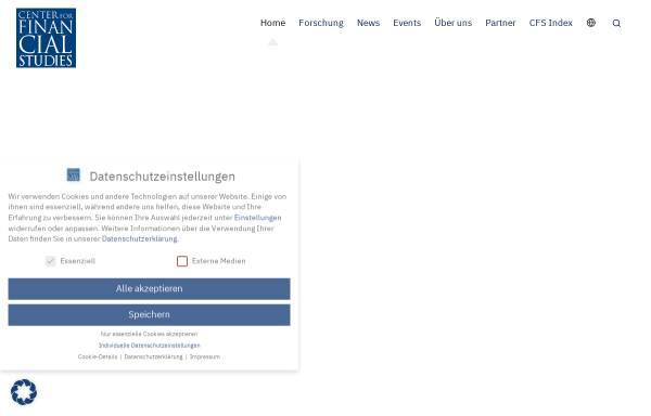 Vorschau von www.ifk-cfs.de, Gesellschaft für Kapitalmarktforschung e.V.