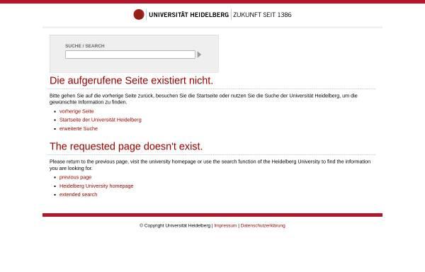 Vorschau von www.kirchhof.uni-hd.de, Institut für Finanz und Steuerrecht
