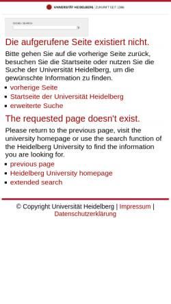 Vorschau der mobilen Webseite www.kirchhof.uni-hd.de, Institut für Finanz und Steuerrecht