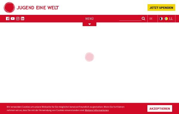 Vorschau von www.jugendeinewelt.at, Jugend eine Welt